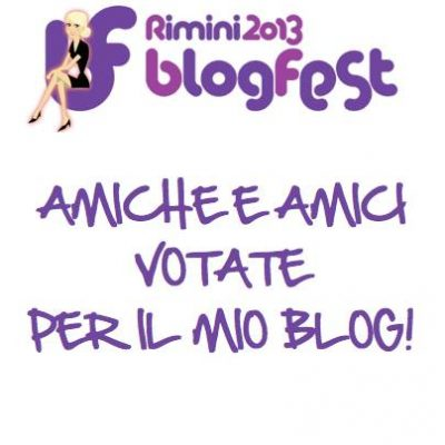 Nomination Blogfest settembre 2013