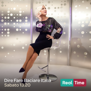 Carla Gozzi - Al via la nuova edizione di Dire Fare Baciare Italia!