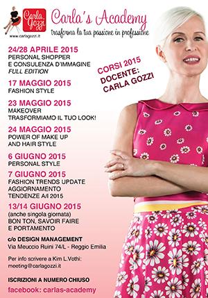 Carla's Academy - Nuovi corsi 2015