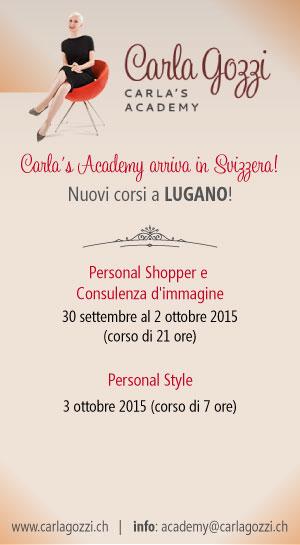 Carla's Academy - Nuovi corsi 2015 - LUGANO