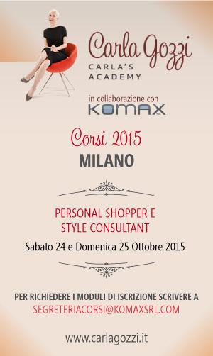 Carla's Academy - Nuovi corsi 2015 - Milano