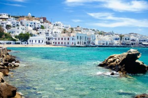 Coast of Mykonos Town