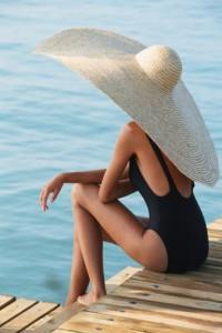 cappello paglia oversize