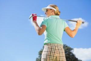 golf glam sport montagna