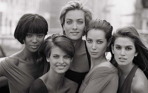SUPERMODELS - ph. di Peter Lindbergh Courtesy of telegraph.co.uk