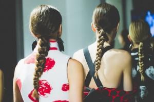 Carla Gozzi HAIRSTYLE fashion week