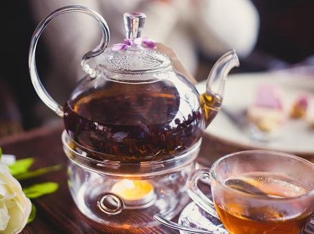 Carla Gozzi tea time rito del tè