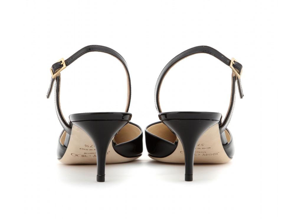 Jimmy Choo - kitten-heel sling-backs - Courtesy of mytheresa.com