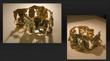 Alvian gioie, Braccialetto scultura gioiello_14