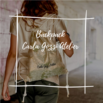BACKPACK CARLA GOZZI ATELIER