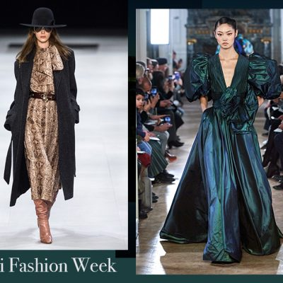 PARIS FASHION WEEK: L'ELEGANZA DI ELIE SAAB E CELINE