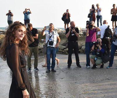 #VENEZIA72. Madrina glam al Festival del Cinema